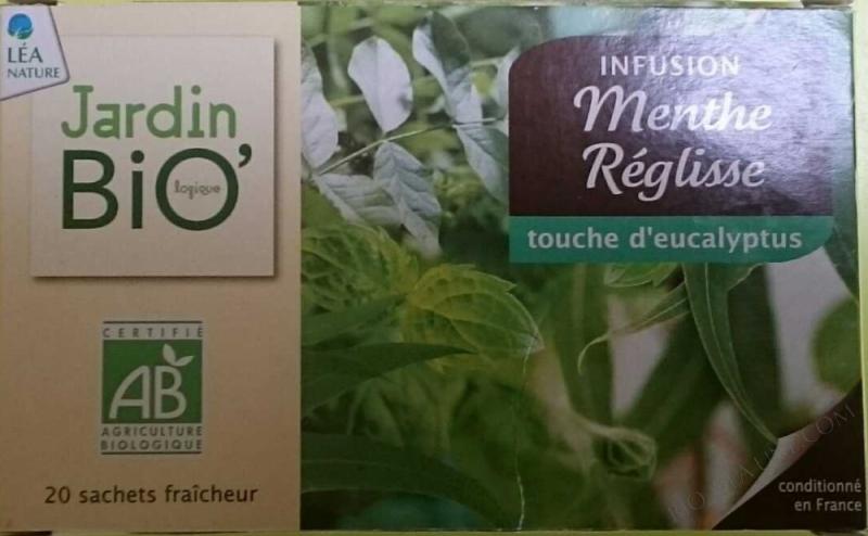 Infusion Menthe Réglisse