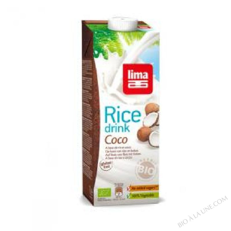 Lait de Riz Coco 1L