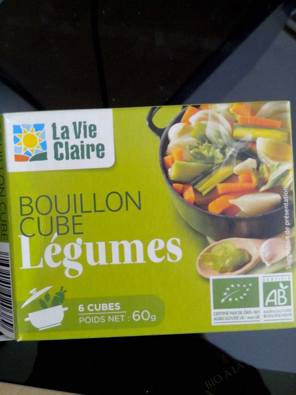 Bouillon Cube Légumes- 60 g