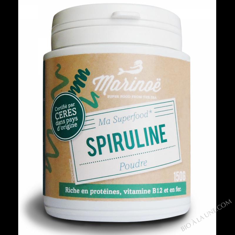 Spiruline poudre - Marinoë