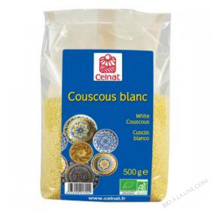 CELNAT Couscous blanc BIO - 500G