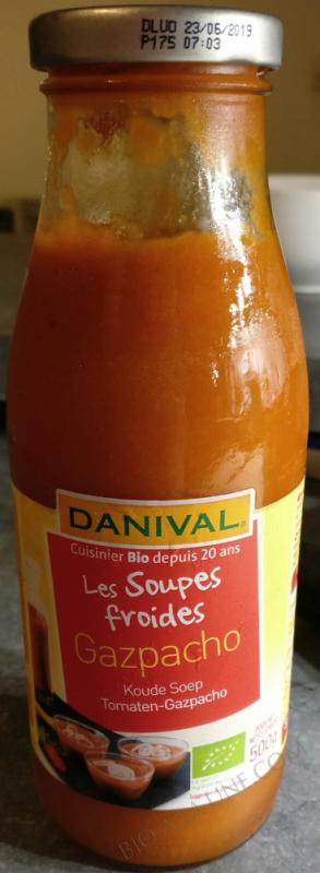 Soupe froide Gaspacho Bio 500g