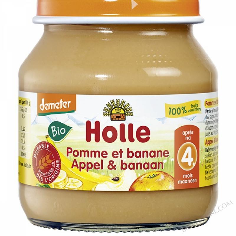 Petit pot pomme-banane 4 mois 125g
