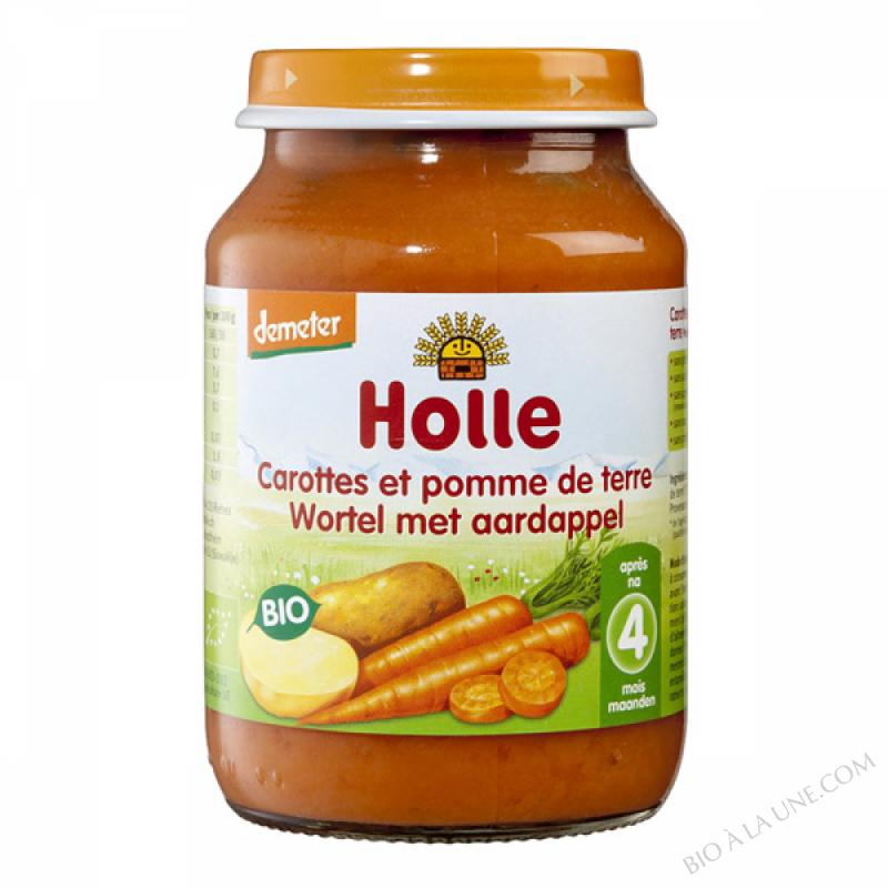 Petit pot carotte-pomme de terre 4 mois 190g