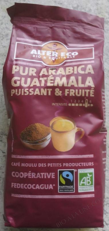 CAFE GUATEMALA 100% ARABICA 260 GR