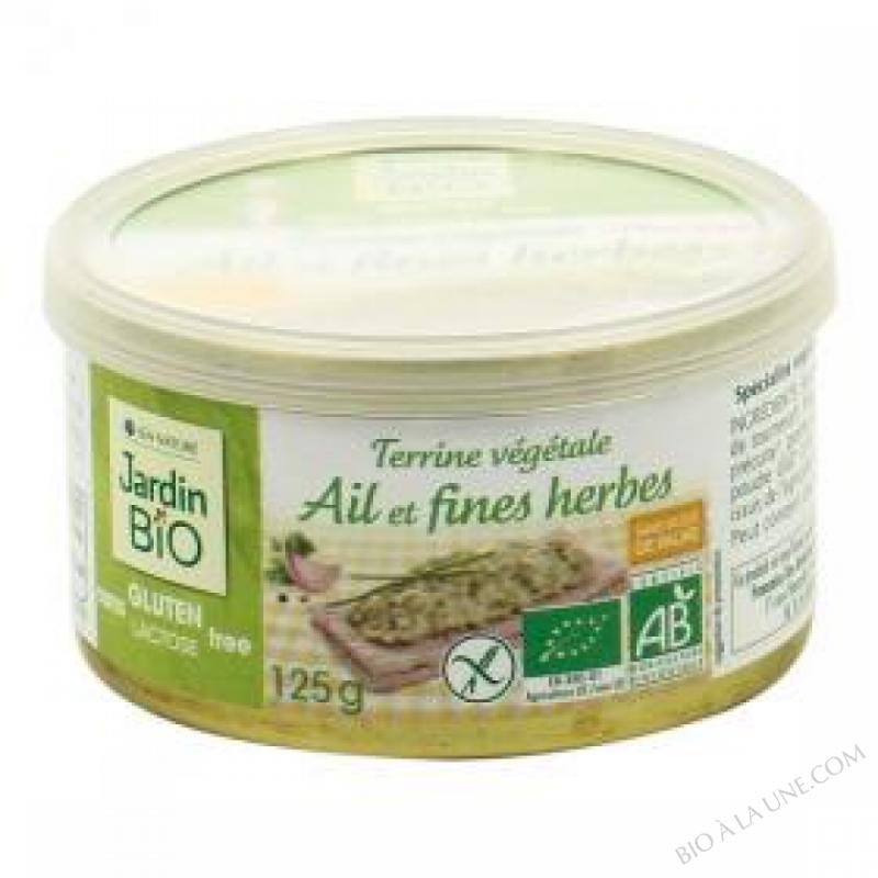 Terrine vegetale Ail et fines herbes sans gluten 125 g