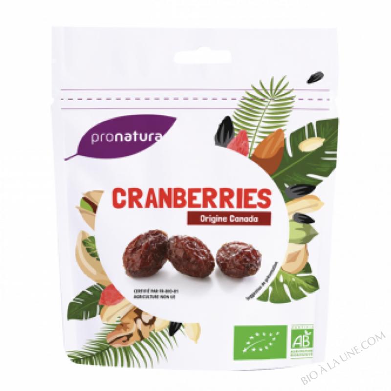 Cranberries sachet 125g