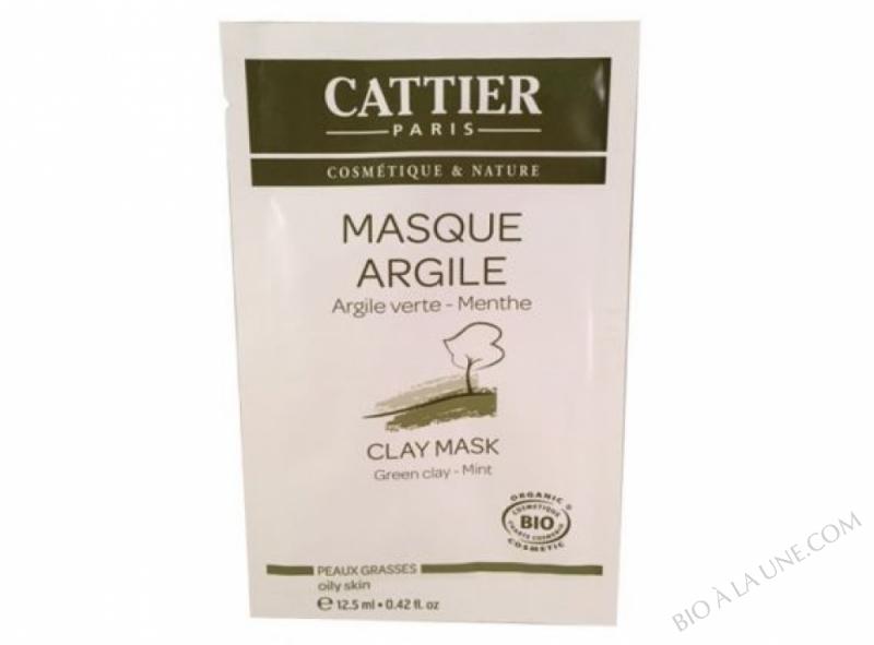 Masque Argile - Argile verte Menthe -12,5 ml