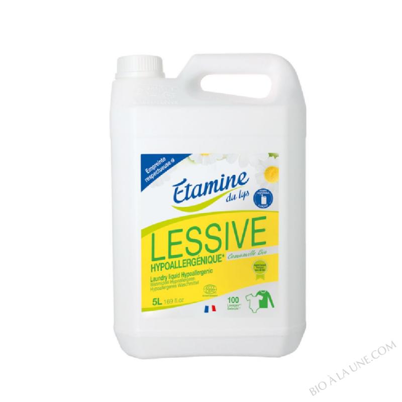 Lessive liquide hypoallergenique 5L