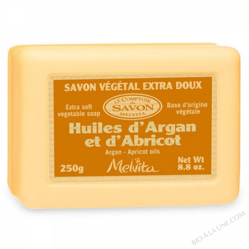 Savon Vegetal Argan-Abricot
