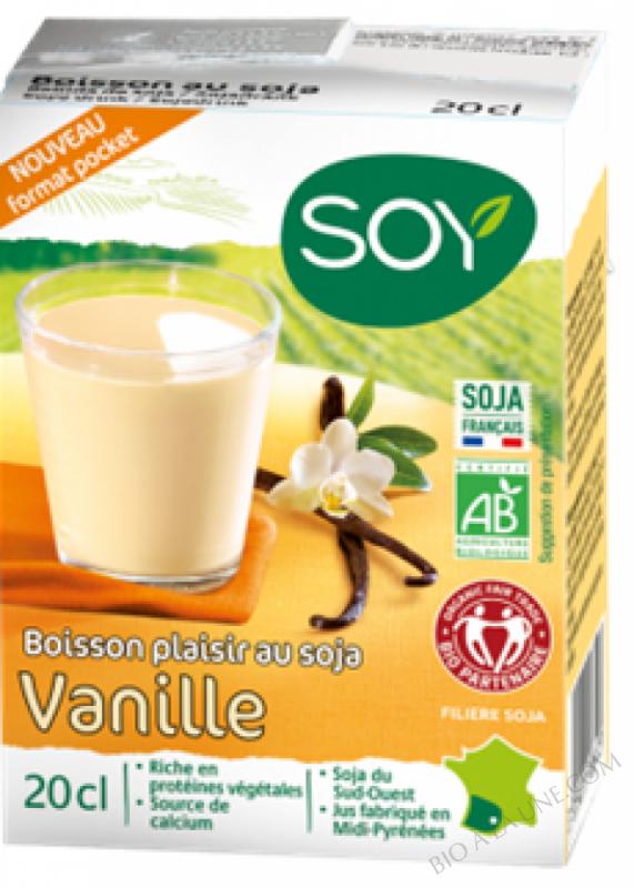 Boisson Soja vanille 3 x 20cl