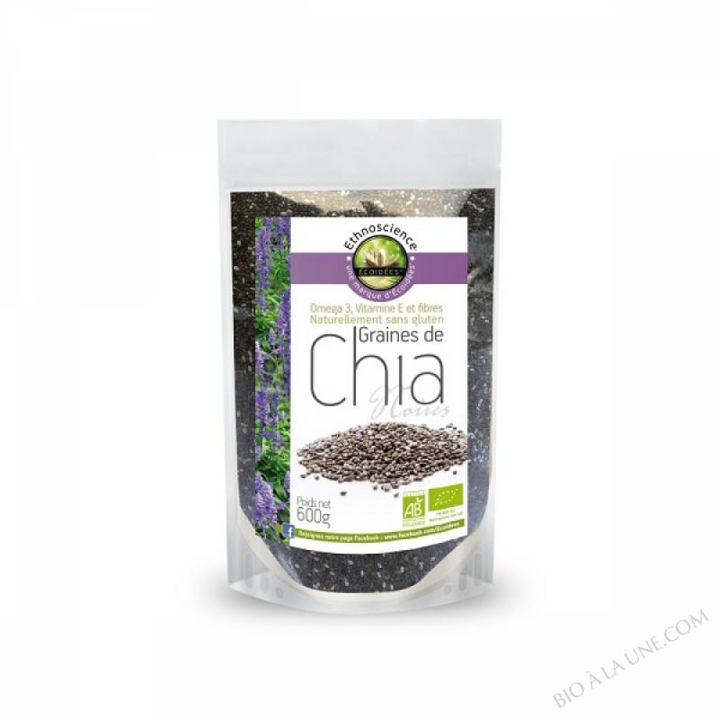 Graines de Chia bio 600gr