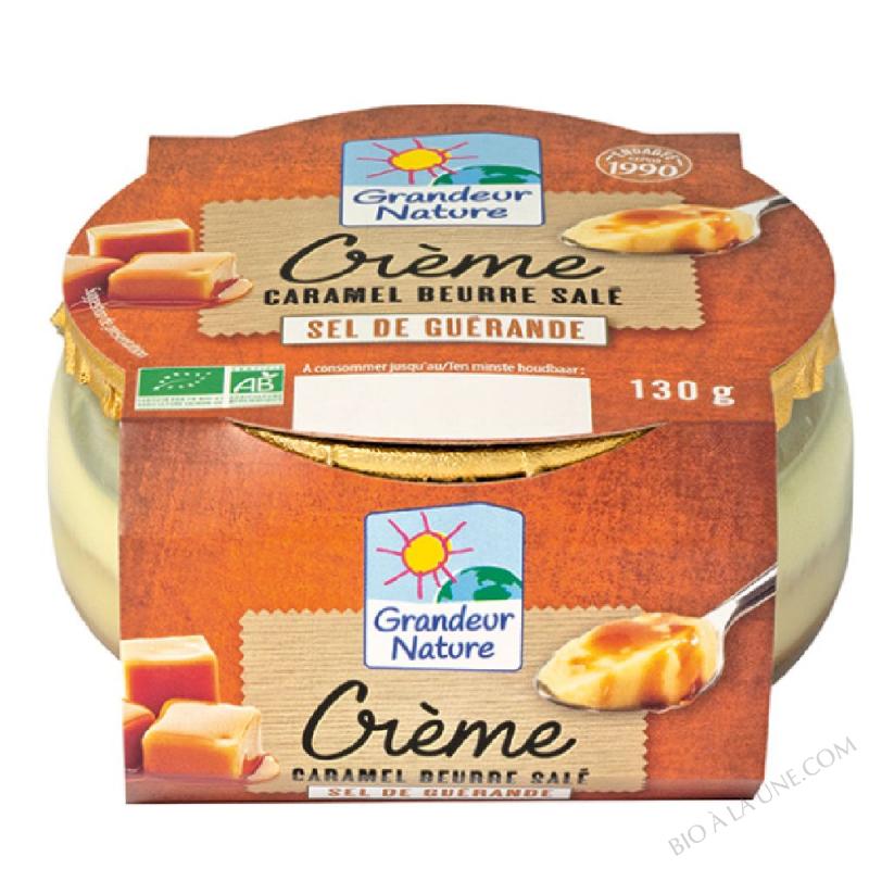 CREME CARAMEL BEURRE SALE 130G GRANDEUR NATURE