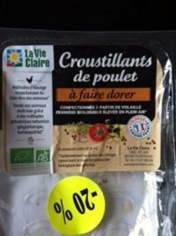 CROUSTILLANT DE POULET À FAIRE DORER-200G