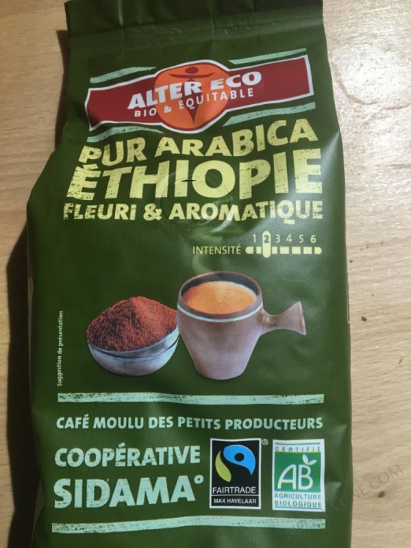 CAFE PUR ARABICA ETHIOPIE - 260G