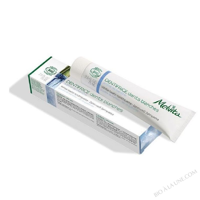 Dentifrice dents blanches Bio 75mL