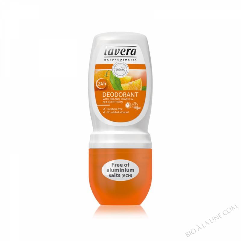 Deo roll on Orange et Argousier Bio 50ml