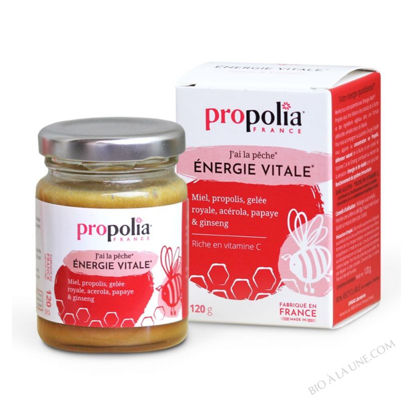 Energie Vitale Propolis, Miel, Gelee Royale.. 120 g