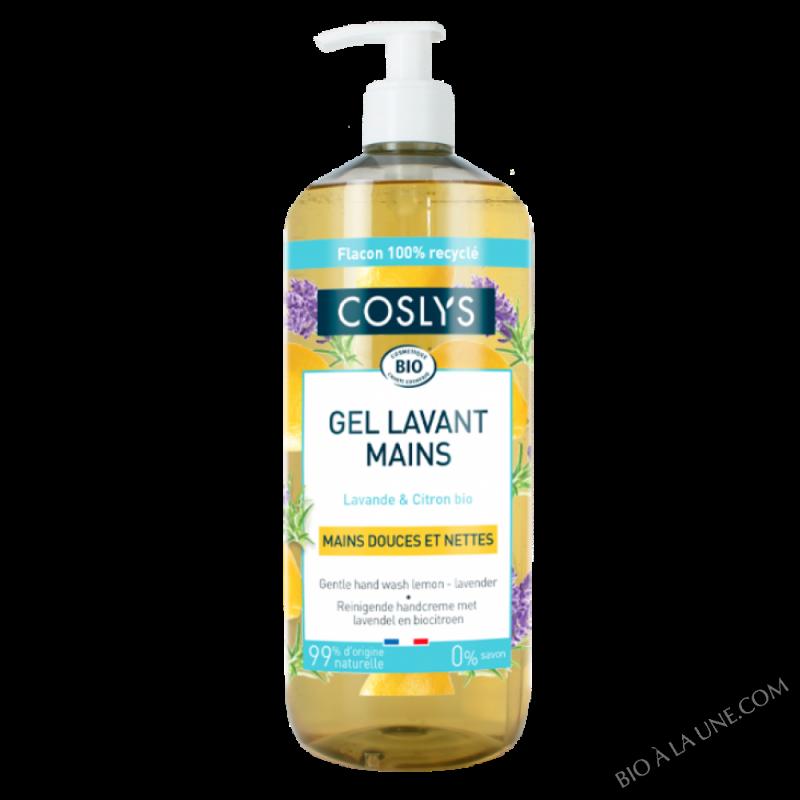 Gel lavant mains lavande-citron 1L