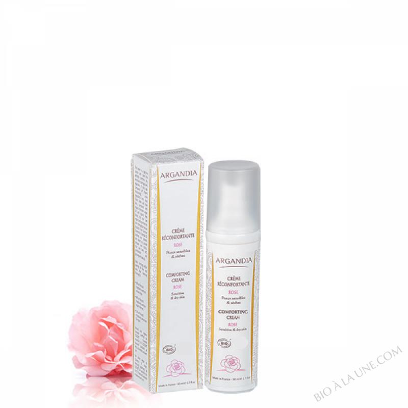 Crème Réconfortante Argan Rose - 50ml