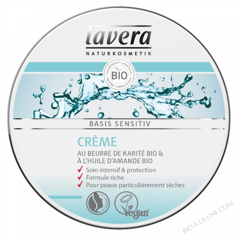 basis sensitiv Crème au beurre de Karite & Amande bio