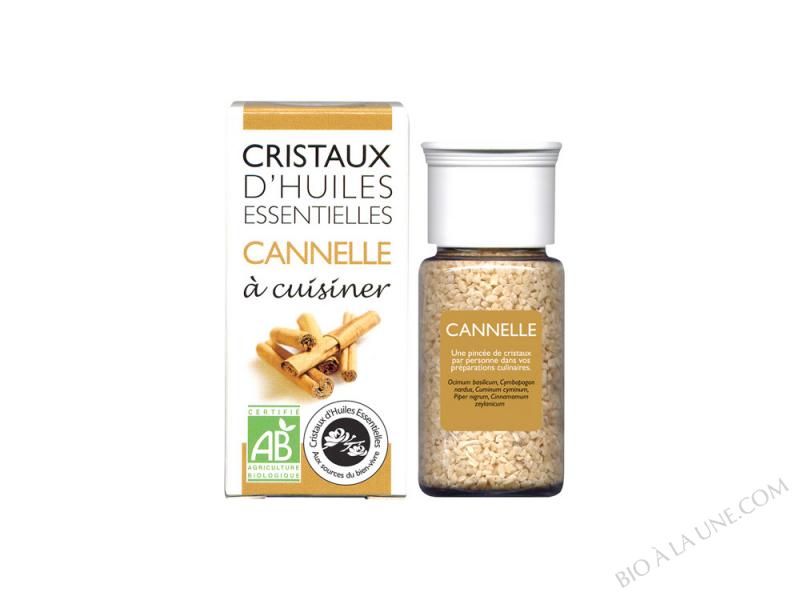 CRISTAUX D?HUILES ESSENTIELLES CANNELLE AROMANDISE