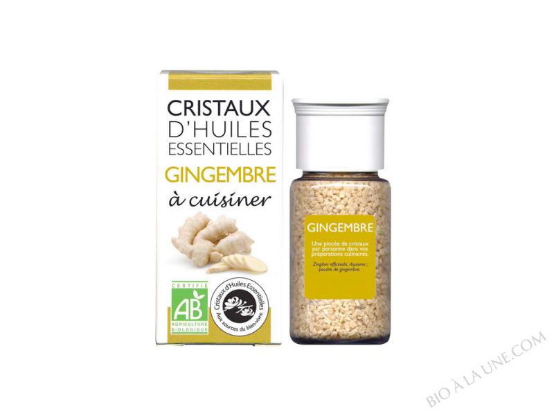CRISTAUX D'HUILES ESSENTIELLES GINGEMBRE AROMANDISE