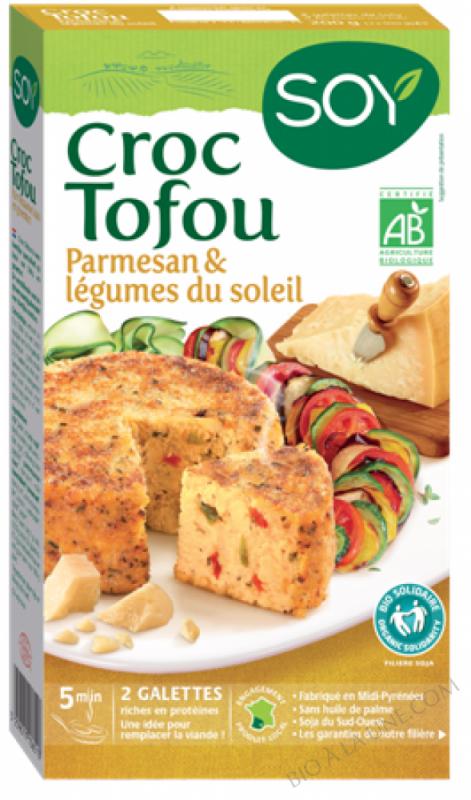 CROC TOFOU PARMESAN & LEGUMES DU SOLEIL - 2 X 100 G