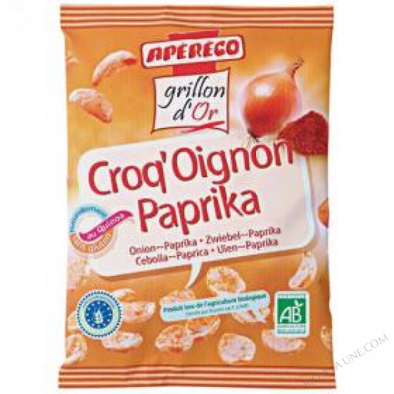 Biscuit aperitif Croq'oignon paprika 60g
