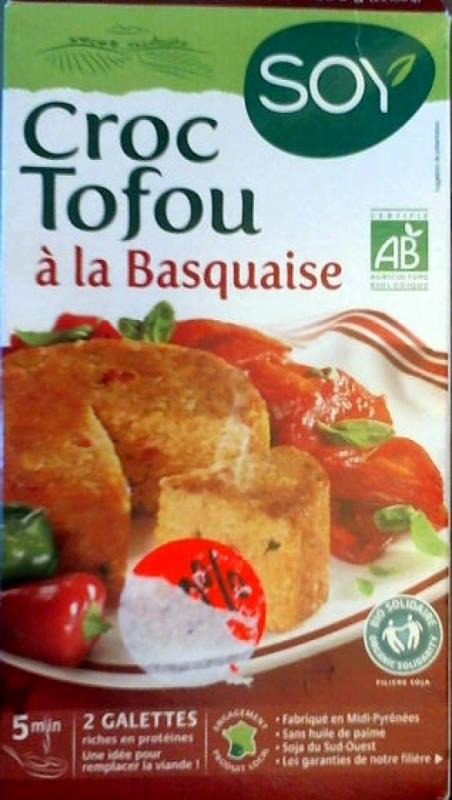 CROC TOFOU À LA BASQUAISE- 200 G