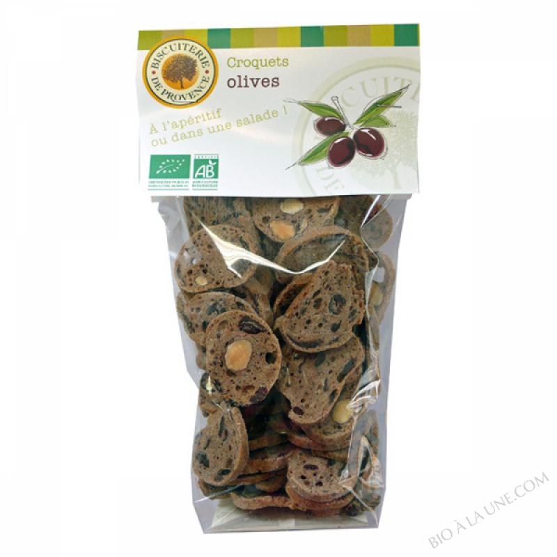 Croquets aux olives BIO 90g