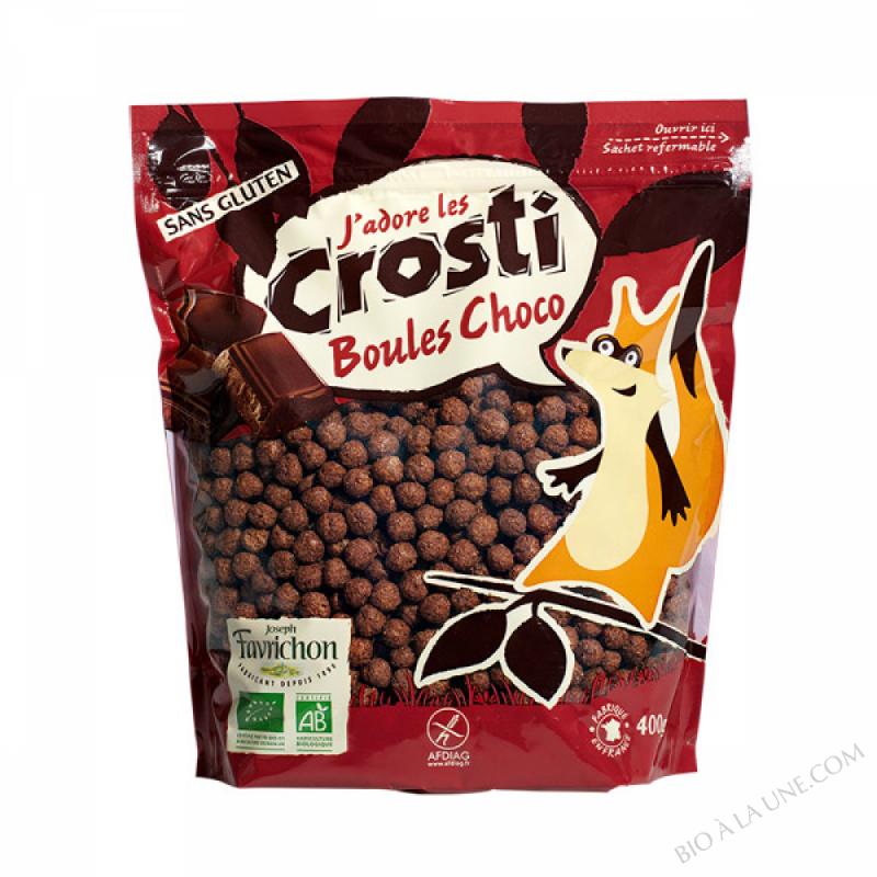 Crosti Boules Choco - 400g
