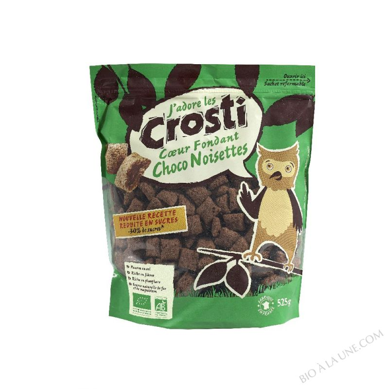 CROSTI COEUR FONDANT CHOCO NOISETTE - 525G