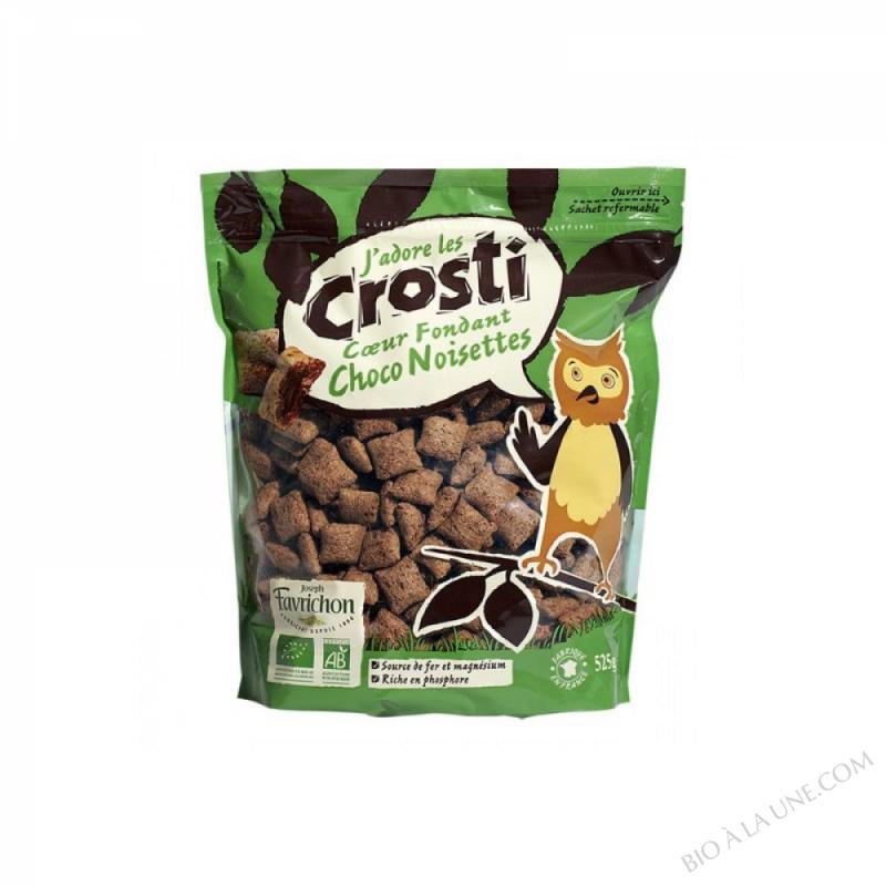 Crosti Favrichon Coeur fondant choco noisettes Sachet refermable