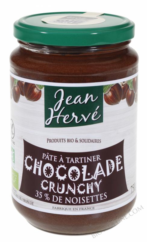 Pâte à tartiner Chocolade Crunchy bio 750g
