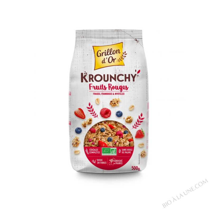 Krounchy fruits rouges