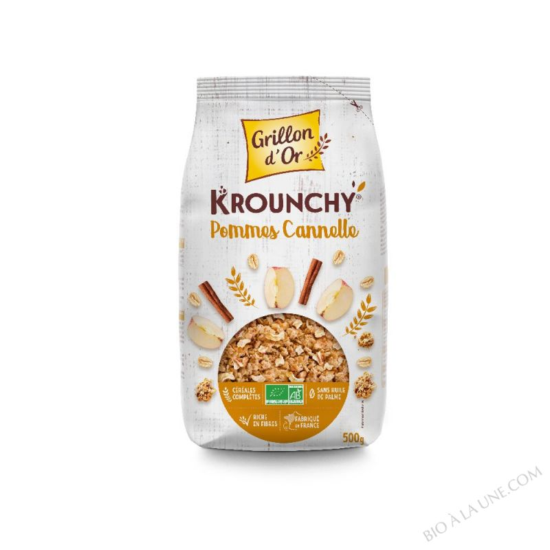 Krounchy Pomme-cannelle 500g