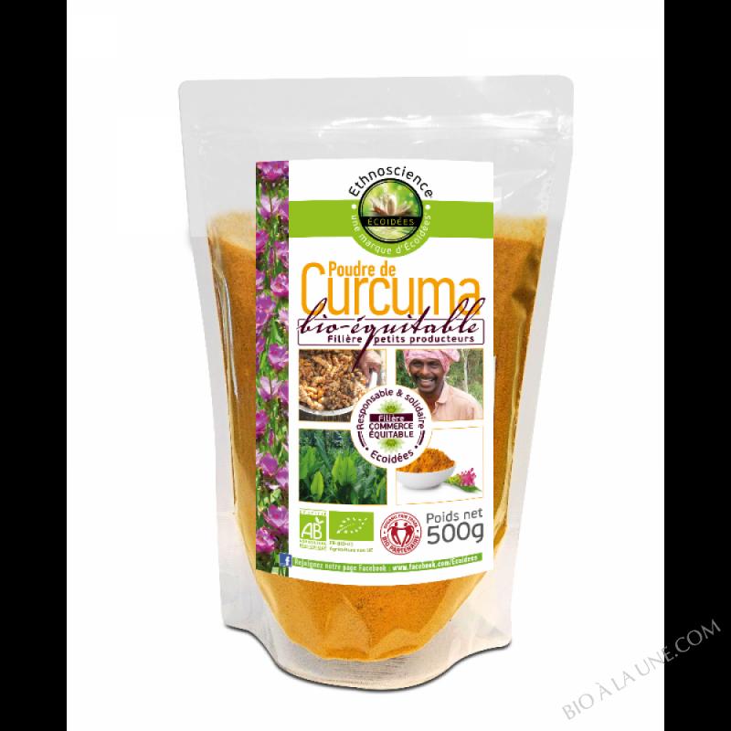 Curcuma en poudre bio-équitable 500 g