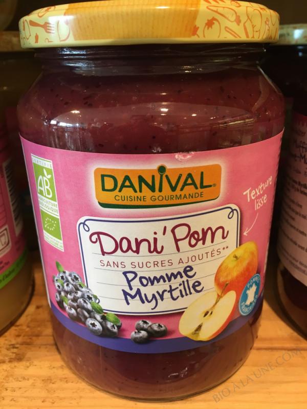 DANI POM MYRTILLE 700G DANIVAL