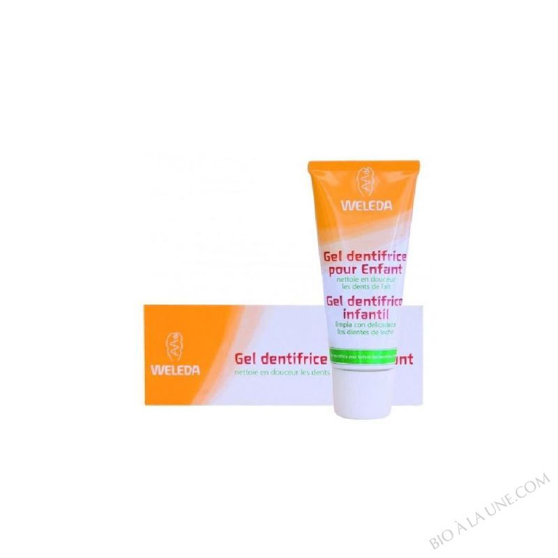 DENTIFRICE GEL ENFANTS 50ML WELEDA