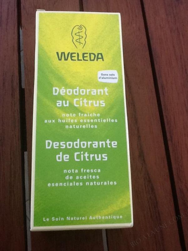 Deodorant au Citrus 100ml Weleda