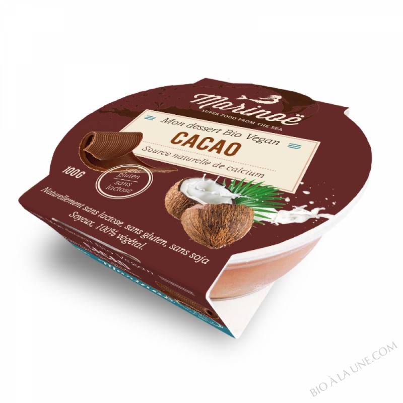 Dessert 100% végétal Cacao - Marinoë