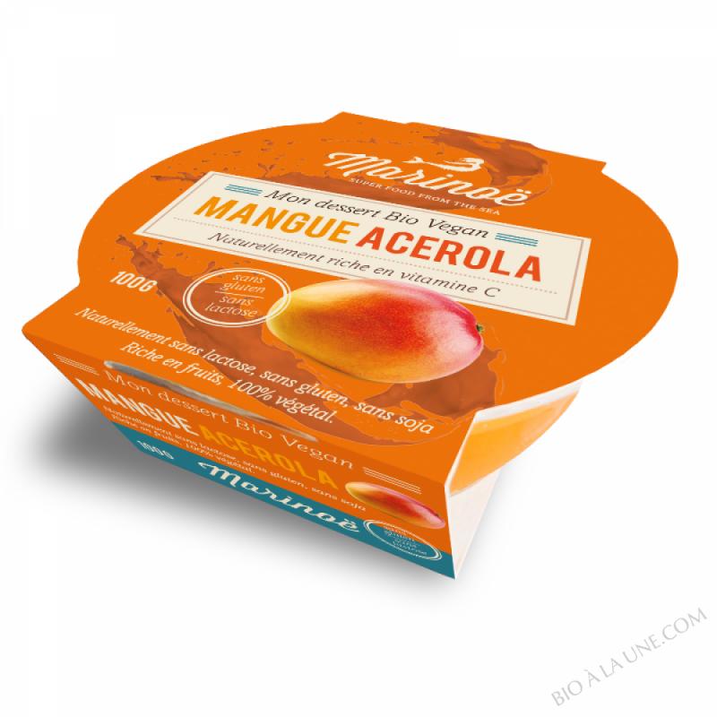 Dessert 100% végétal Mangue-Acerola - Marinoë