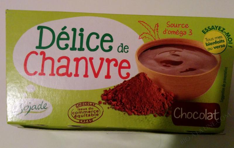 DELICE DE CHANVRE CHOCOLAT 2X100G