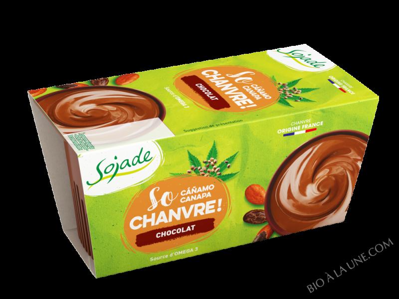 DESSERT DE CHANVRE CHOCOLAT 2X100G SO CHANVRE SOJADE