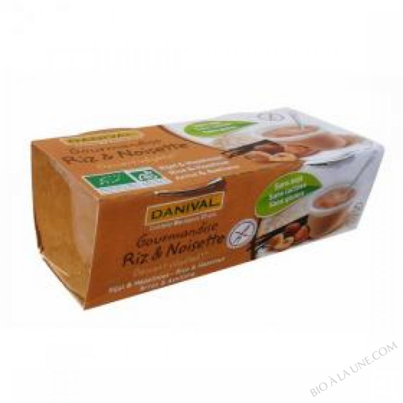 Gourmandises Riz noisettes BIO 2x110g