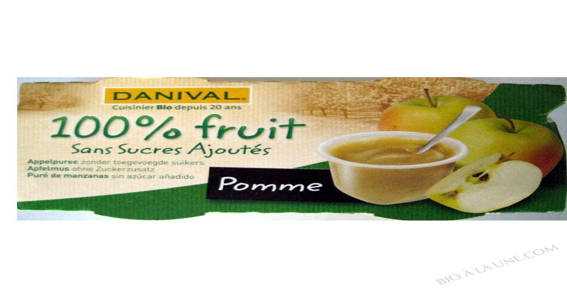 Puree Pommes BIO 4 x 110g