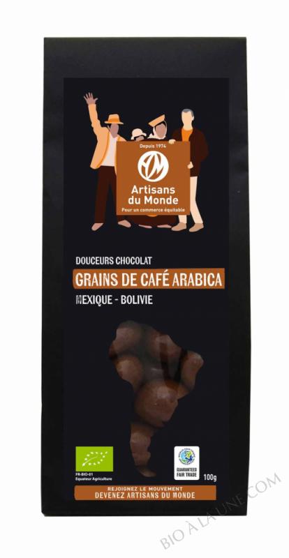 DOUCEUR CHOCOLAT GRAIN CAFÉ - 100G