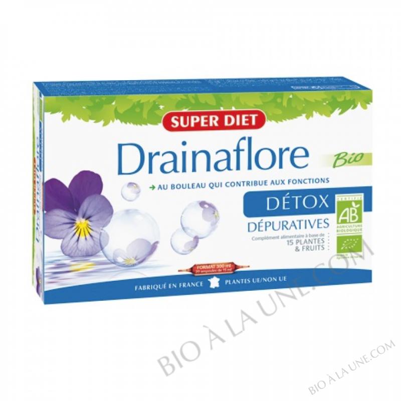 DRAINAFLORE AMPOULES 300ML SUPERDIET