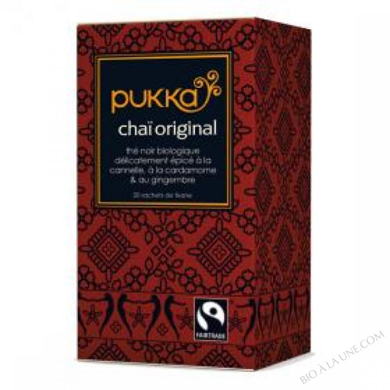 Thé Chai Original (Original Chai) BIO - boite de 20 sachets